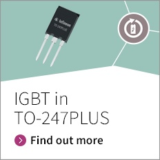 Bigger active chip area of the new TO-247PLUS package can accommodate up to 75A IGBT with 75A diode in TO-247 footprint. Higher power density of TO-247PLUS can be used to reduce paralleling, increase system power density or system power output.