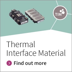 A thermal interface material, especially developed for and pre-applied to Infineon`s power modules outperforms the general purpose materials available.
