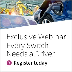 Every Switch needs a driver - Register now for your exclusive webinar