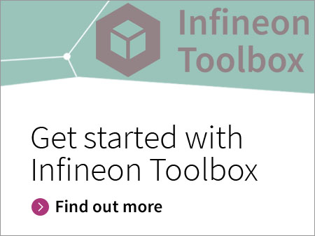 Button Infineon Toolbox