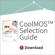 Infineon button CoolMOS Selection Guide