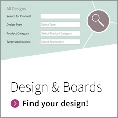 Evaluation board product finder - Design and Boards