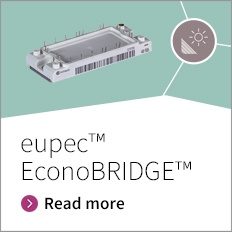 eupec ™ EconoBRIDGE™ - Our versatile rectifier stage dedicated to work with EconoPACK™ 2