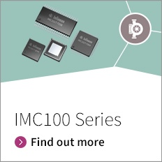 Promotion banner for iMOTIONs IMC100 Series