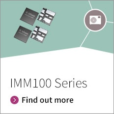 Promotion banner for iMOTIONs IMM100 Series