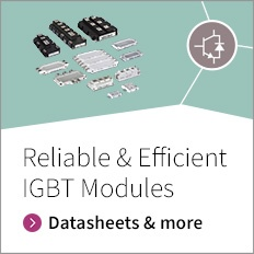 Datasheet and more for Reliable and Efficient IGBT Modules