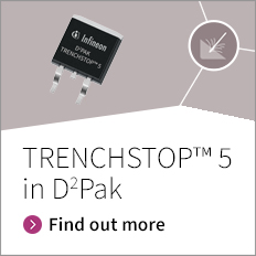 TRENCHSTOP™ 5 in D2Pak - Unique, highest power density 650 V IGBT in D2PAK footprint