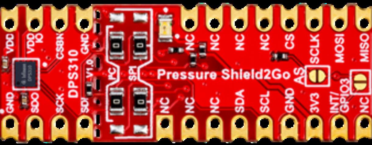Pressure Sensor Library For Proteus