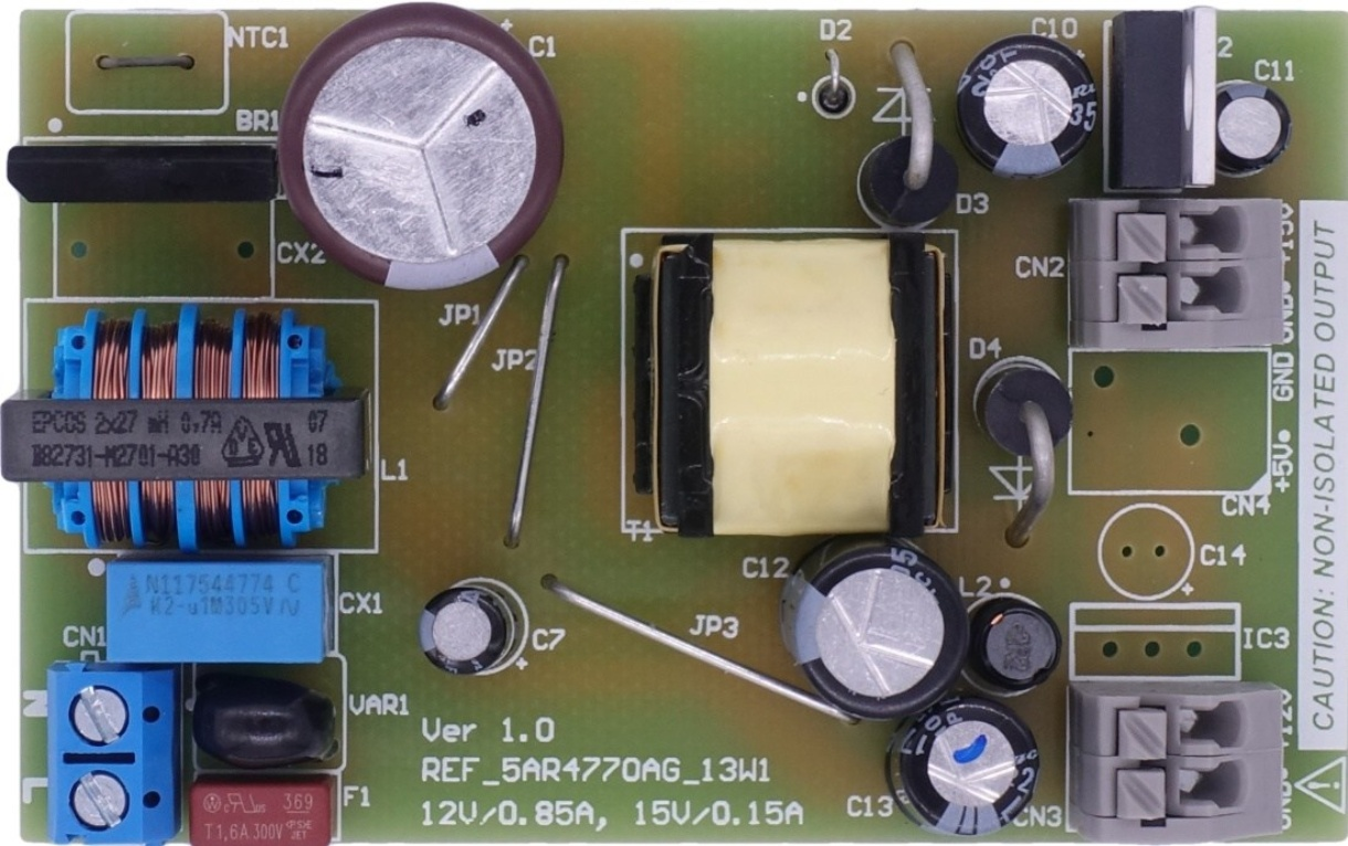 Ref 5ar4770ag 13w1 Infineon Technologies Circuit Solutions Nonisolated Offline Ac To Dc Power Supply By Application Note 13w Non Isolated Auxiliary For Outdoor Air Conditioner 01 00 Dec 20 2018 Pdf 408 Mb