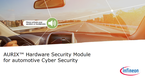 AURIX™ hardware security module for automotive Cyber Security