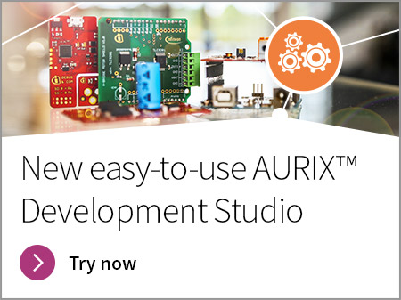 IFX Banner Aurix Developer Studio