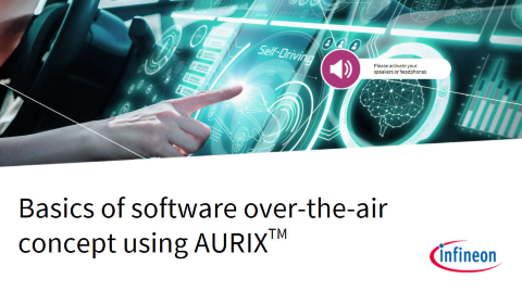 Over the air concept aurix