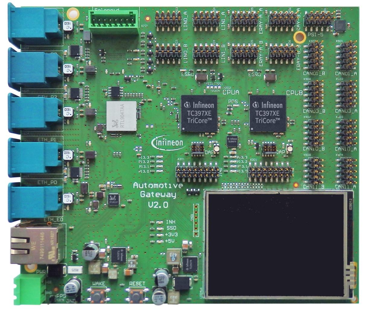 KIT_A2G_TC397_GTW - Infineon Technologies