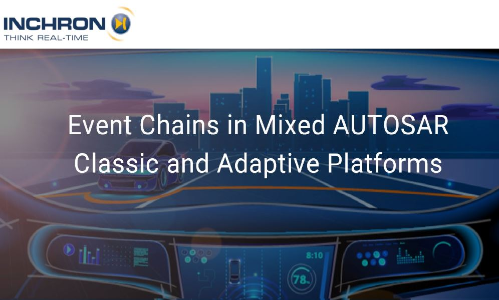Event Chains in Mixed AUTOSAR Classic and Adaptive Platforms