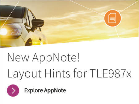 Application note to provide application hints when using TLE987x in a typical automotive 12V BLDC Motor Driver Application