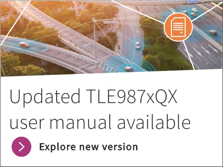 Updated TLE987xQX user manual available