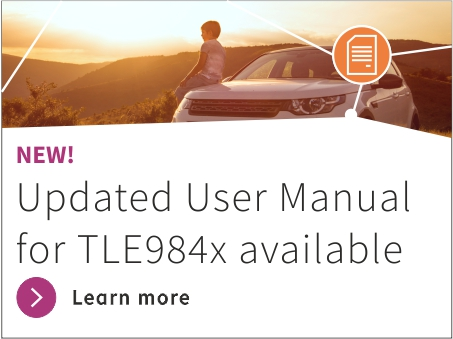 Updated user manual for TLE984x