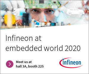 Infineon at embedded world 2020