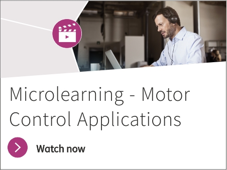 Microlearning about Motor Control Applications