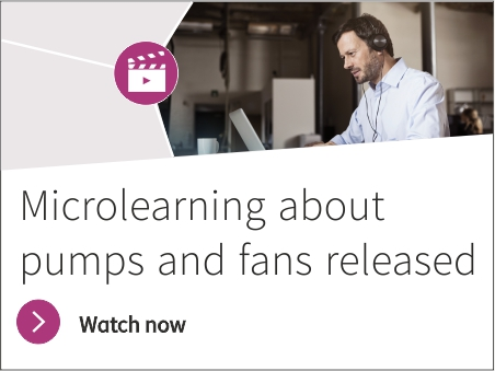 Microlearning about pumps and fans