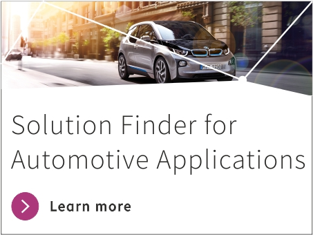 Automotive Applications Solution Finder