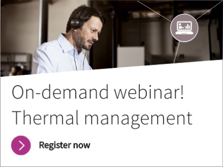 On-Demand Webinar: Thermal Management - Addressing Challenges with Auxiliary Pumps and Fans