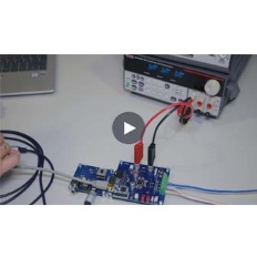 Video MERUS™ audio solutions evaluation boards set-up