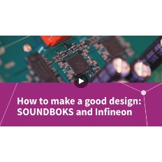 Infineon Button MERUS™ How to make a good design SOUNDBOKS