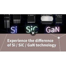 Infineon Button Experience the difference of Si SiC GaN technology