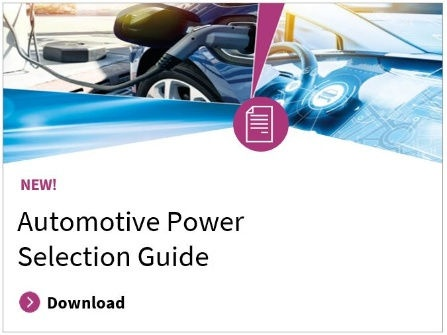 Automotive power selection guide 2019