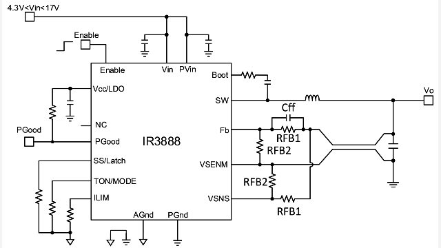 Basic application circuit