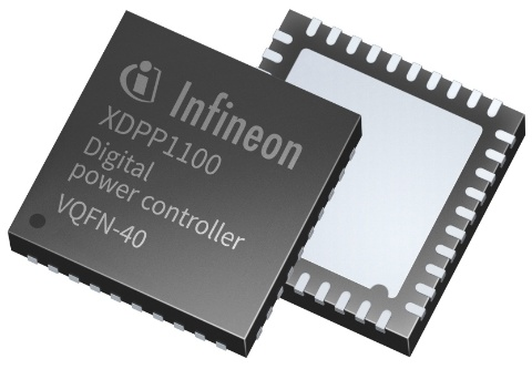 Infineon package picture XDPP1100 VQFN-40