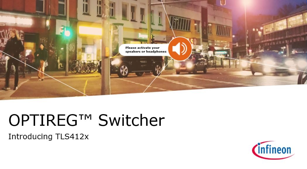 OPTIREG Switcher Introduction TLS412x