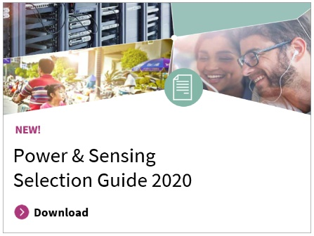 Power Sensing Selection Guide 2019
