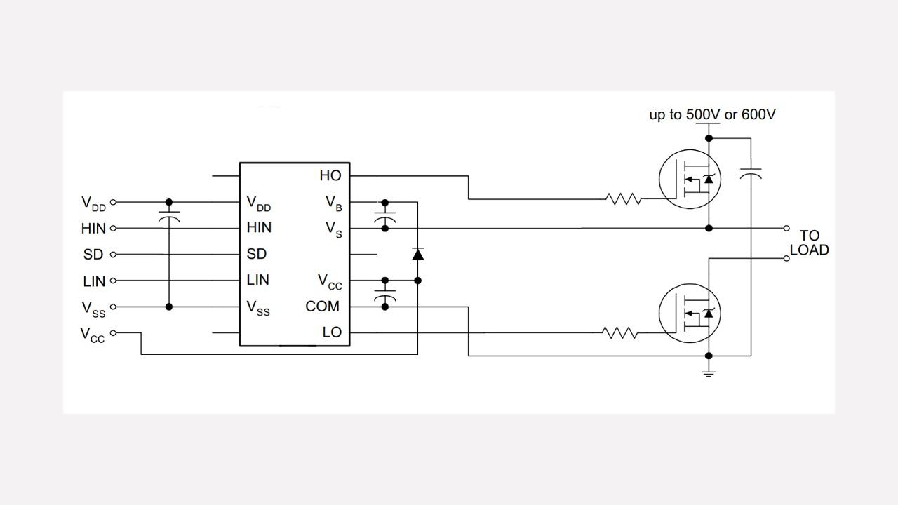 Ir2110s Infineon Technologies Ir2110 High Speed Power Mosfet Lead Assignments And Datasheet Prevnext