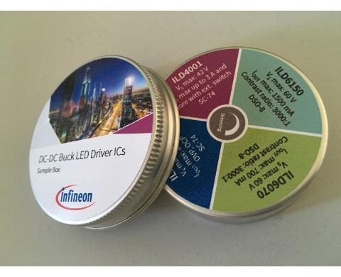 box led dcdc samples infineon technologies