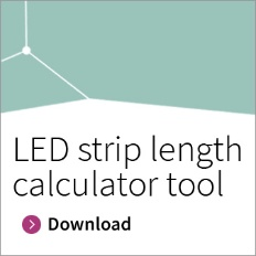 Infineon button LED strip length calculator tool download