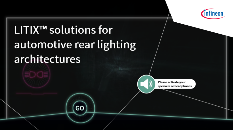 LITIX™ solutions for automotive rear lighting architectures