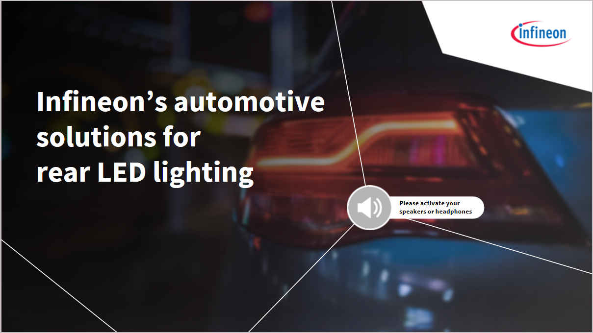 Infineon banner led driver training