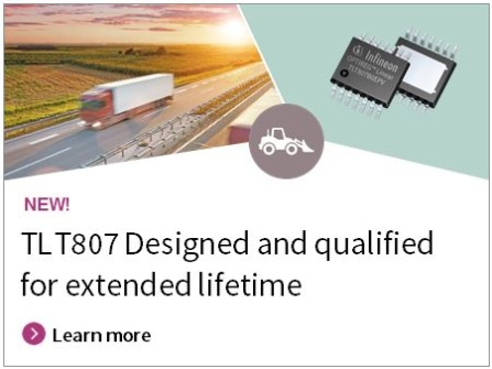 TLT807 Designed and qualified for extended lifetime