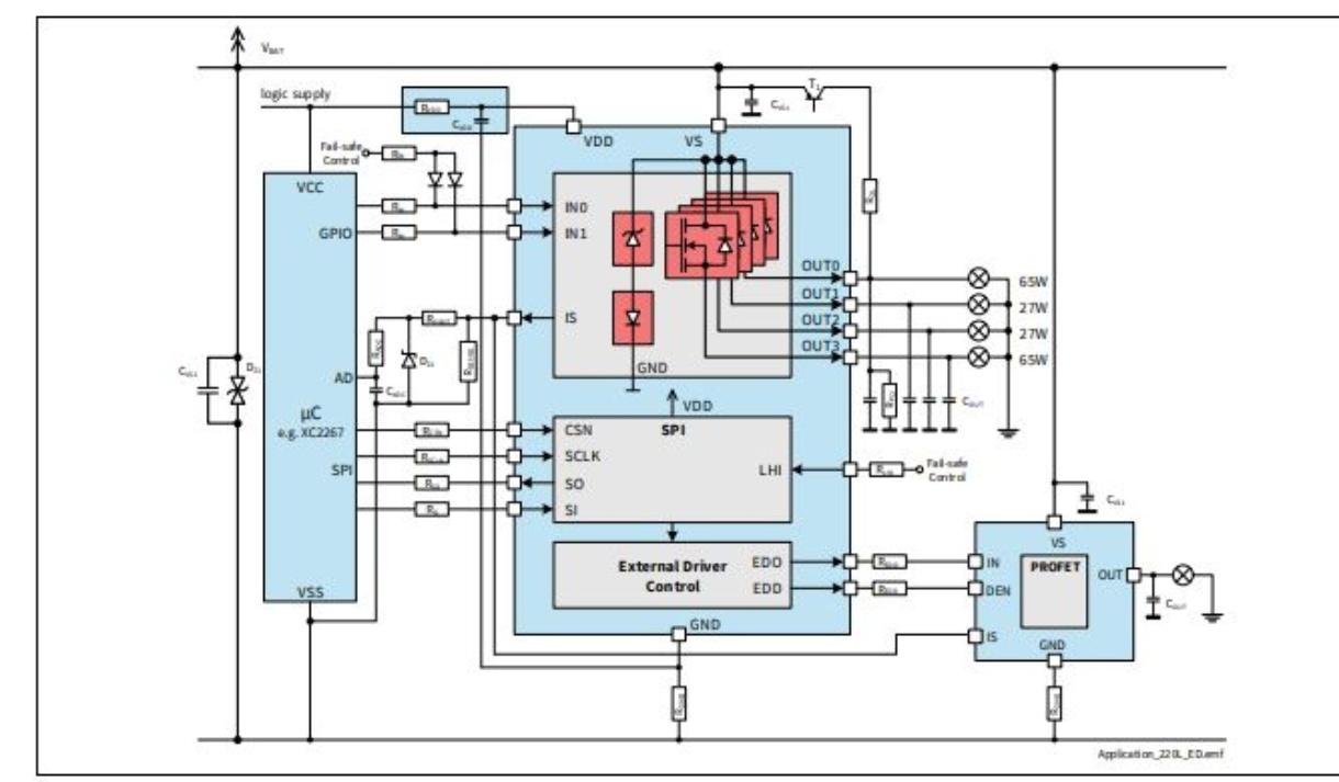 Bts72220 4ese Infineon Technologies