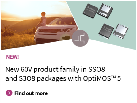 60V product family in SSO8 S3O8 packages with OptiMOS_5