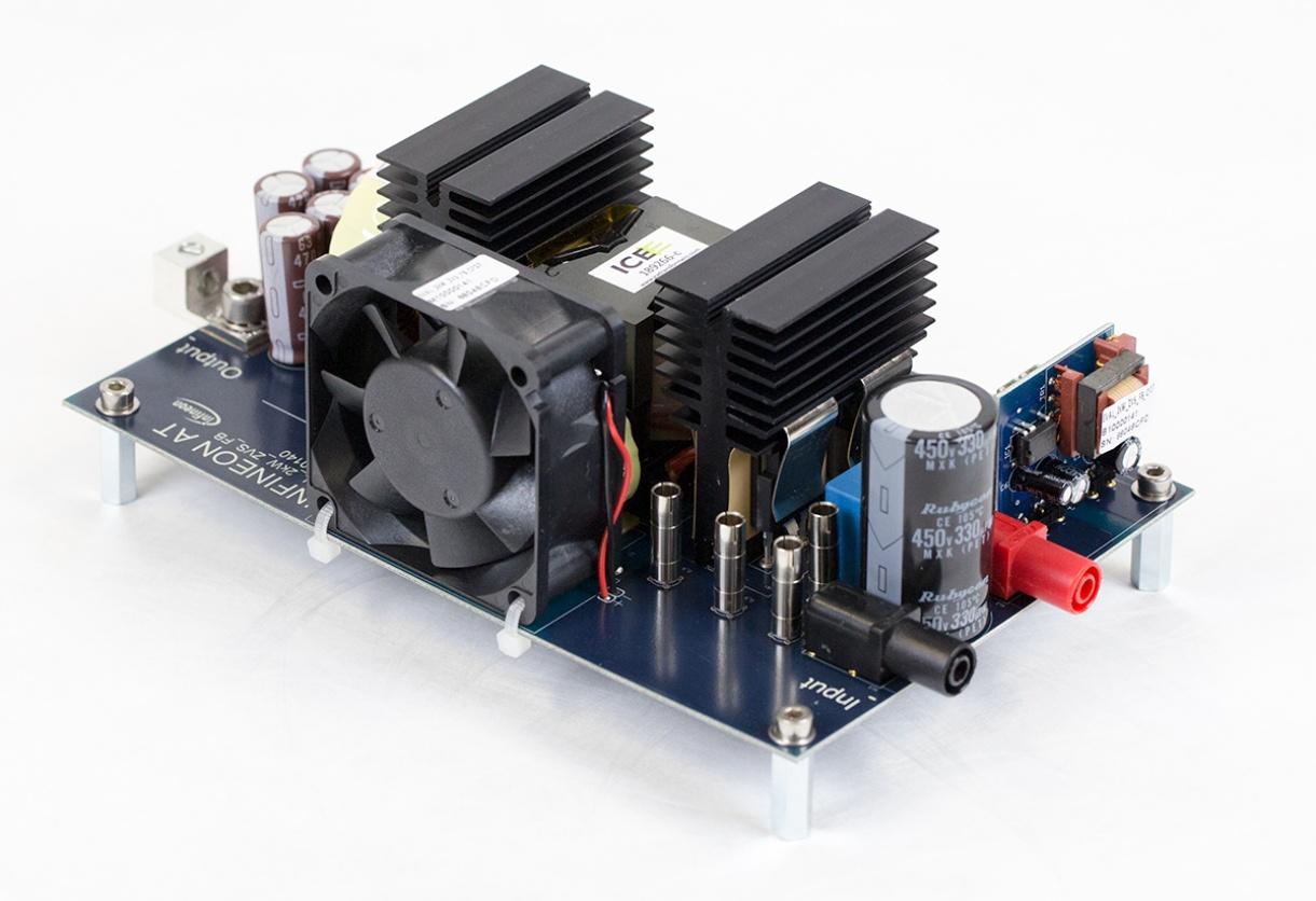 Eval 2kw Zvs Fb Cfd7 Infineon Technologies Bare Circuit Board For The 8051 Development General Description Evaluation