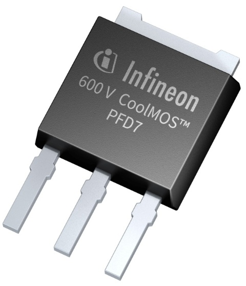 Infineon package picture CoolMOS™ PFD7 TO251 IPAK short lead