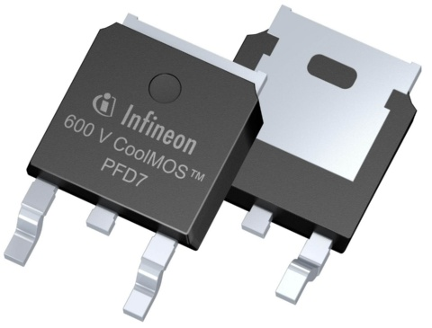 Infineon package picture CoolMOS™ PFD7 TO252 DPAK package