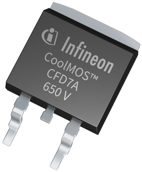 Infineon package 650V CoolMOS™ CFD7A D2PAK