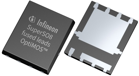 Infineon package SuperSO8 fused leads TDSON-8 OptiMOS™