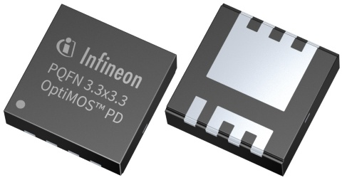 Infineon package picture OptiMOS PD PQFN