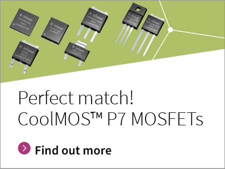 Infineon banner button CoolMOS P7 perfect match