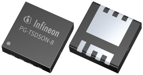 Infineon package photo in PG TSDSON 8